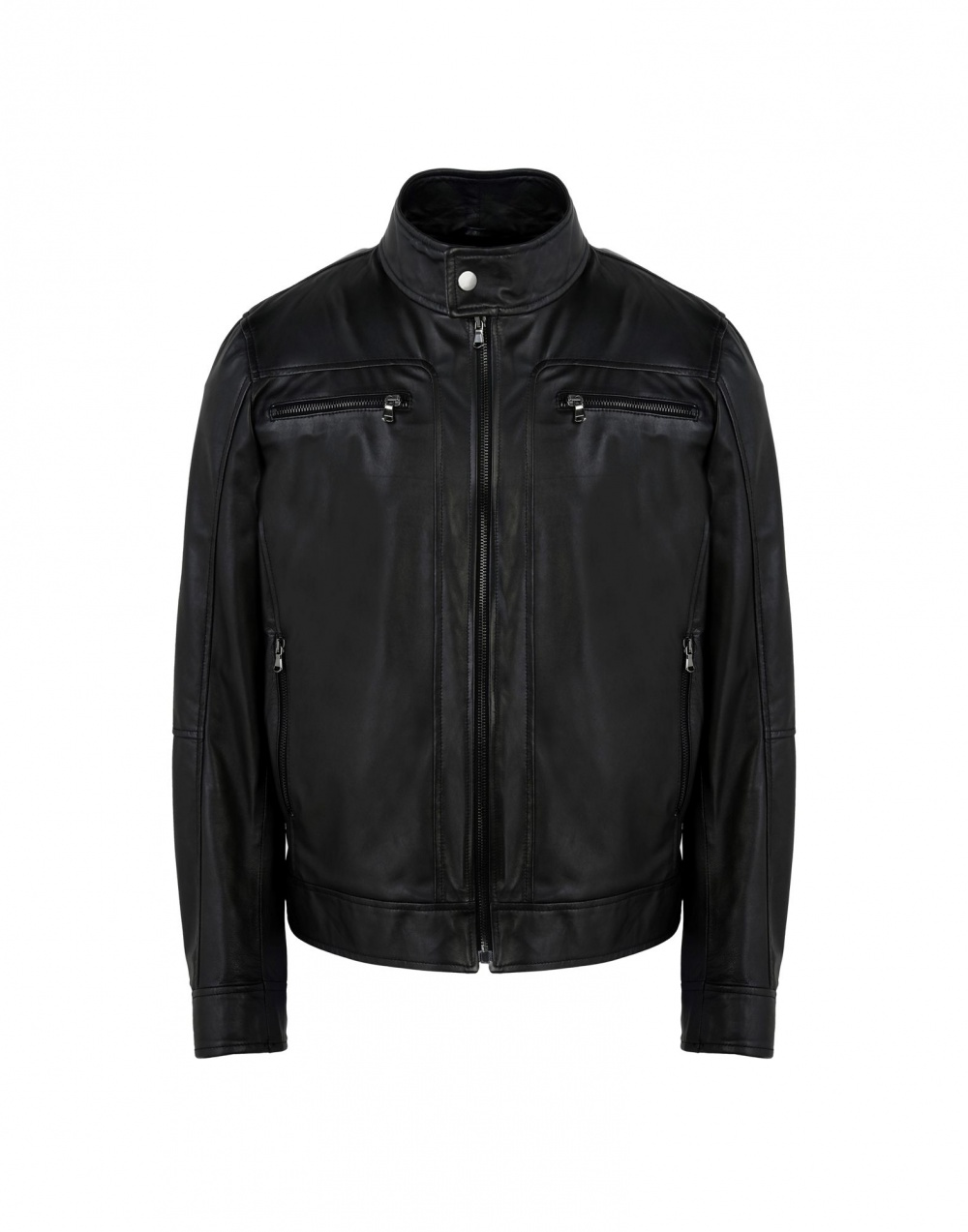 """Кожаная куртка """"8"""", мужская, размер XL"""