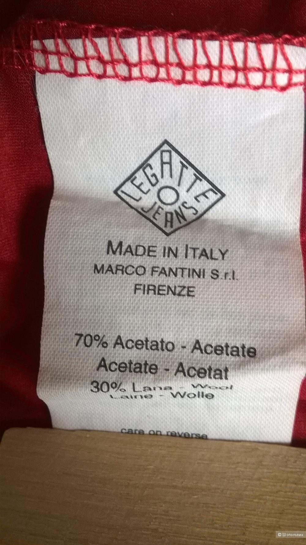 Блуза трикотажная LEGATTE Италия Новый р.44