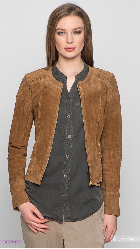 Куртка,  замша,  Vero Moda, размер 42-44