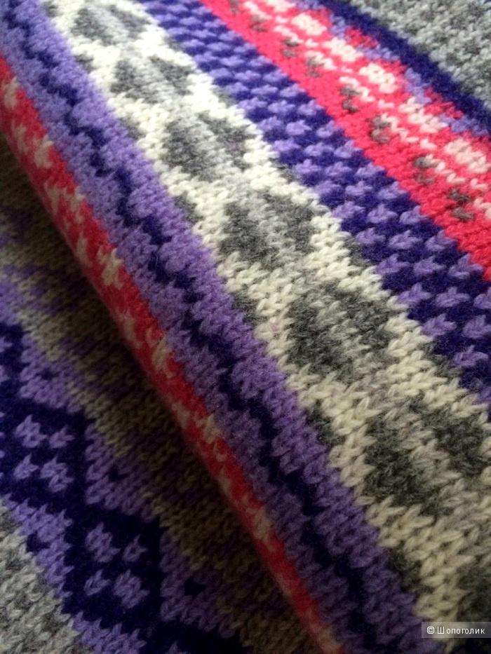 Benetton теплый шарф (31 на 190)