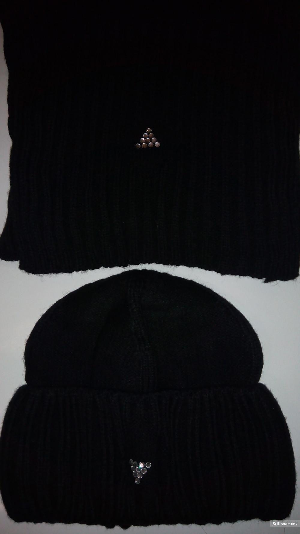 Шапка и шарф, Ferz, размер 50-54
