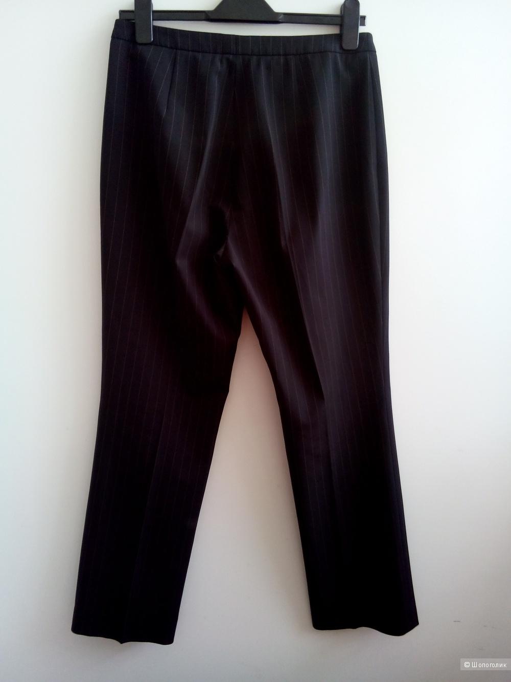 Брюки BETTY BARKLY  Германия классика  черные в тонкую полоску коричневую в размере 40 евро(14 GB)46-48 росс