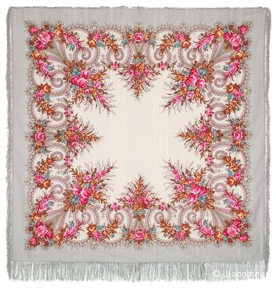Павловопосадский платок Лариса 146х146