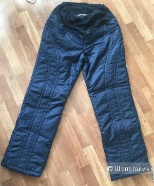 Утеплённые штаны для беременных, буду мамой, 48 размер