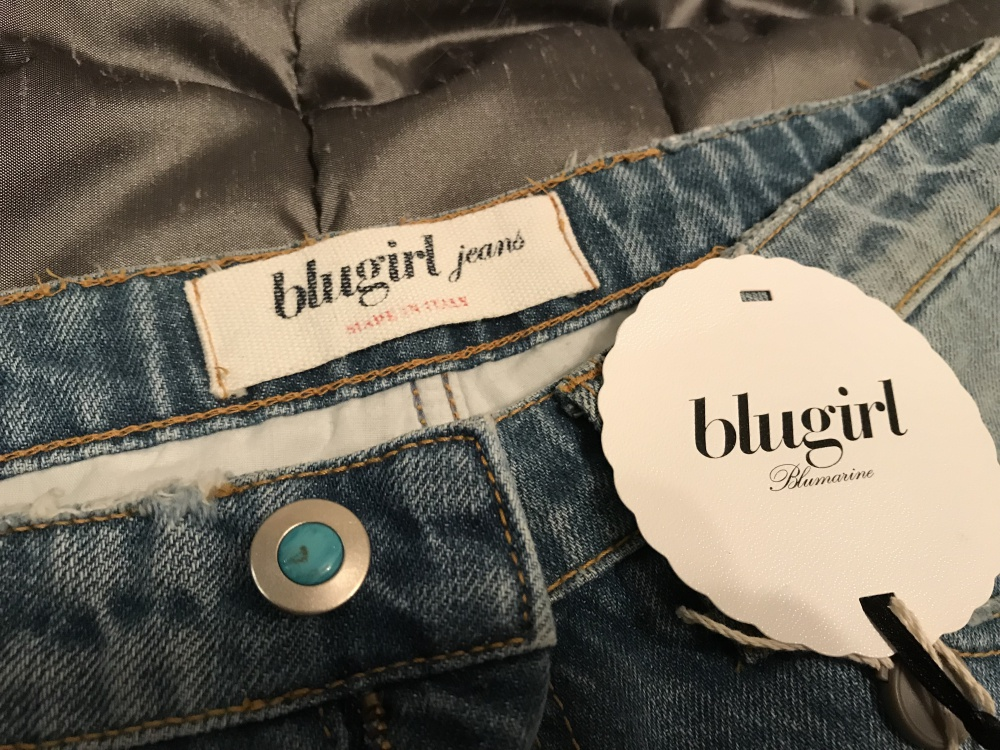 Джинсы Bluegirl Blumarine