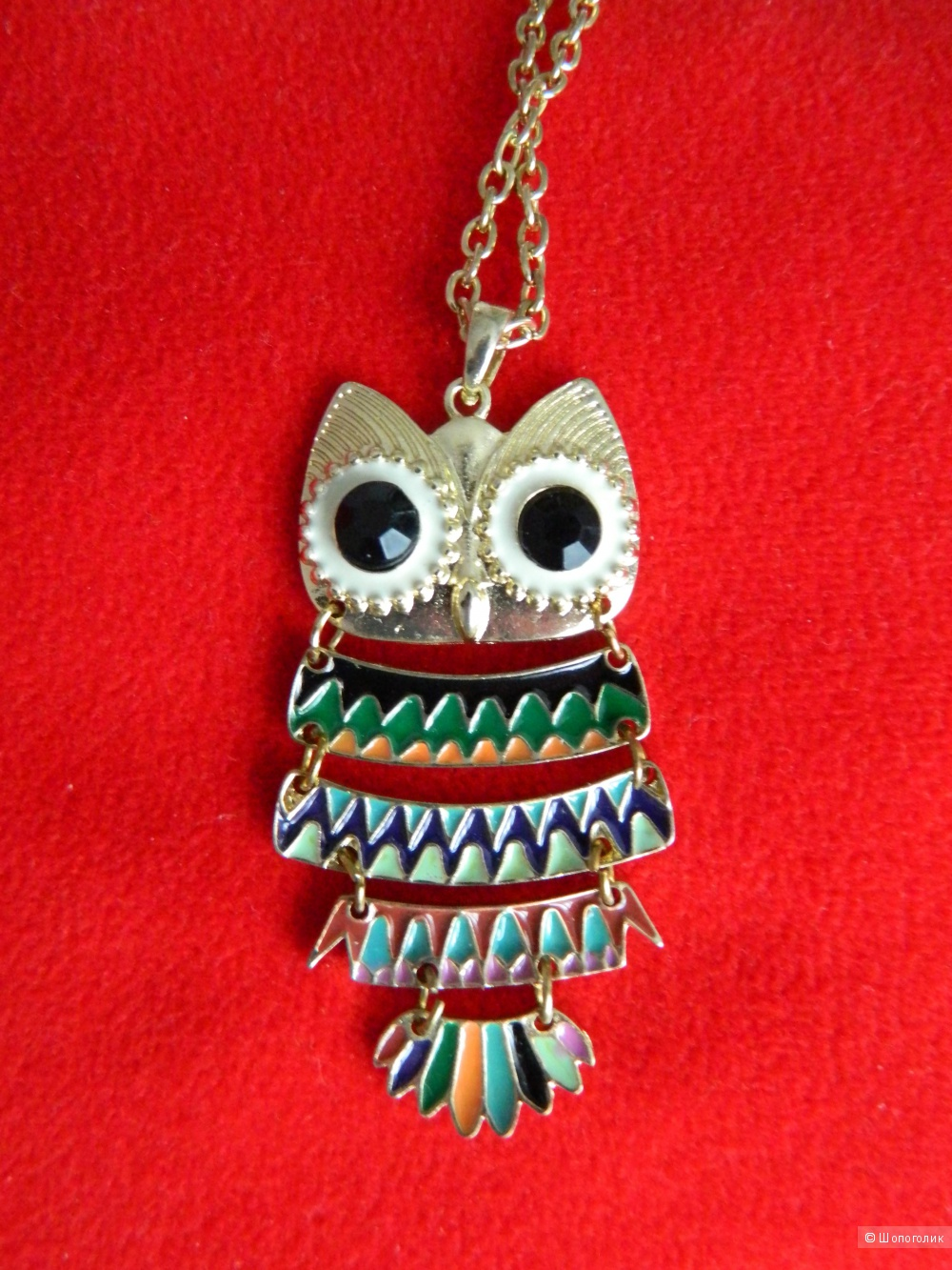 River Island Articulated Milly Owl Necklace