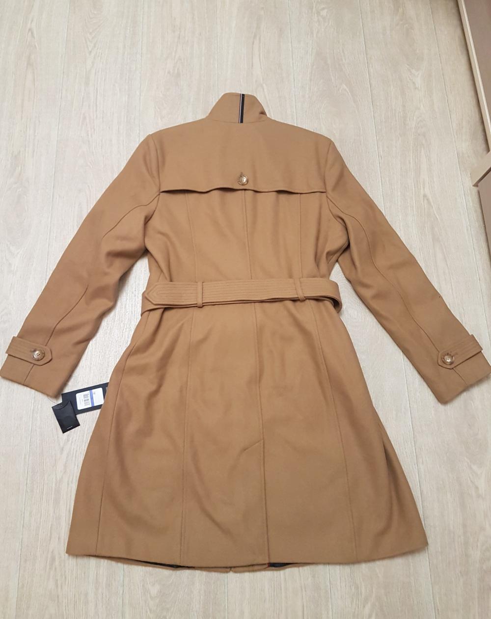 Шерстяное пальто (тренч) Tommy Hilfiger, размер XL