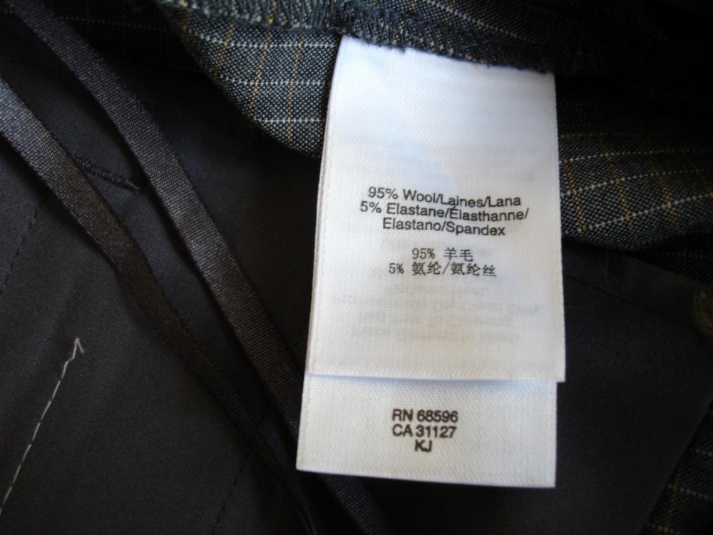 Укороченные шерстяные брюки DKNY , размер 2 US (рус 42), новые.