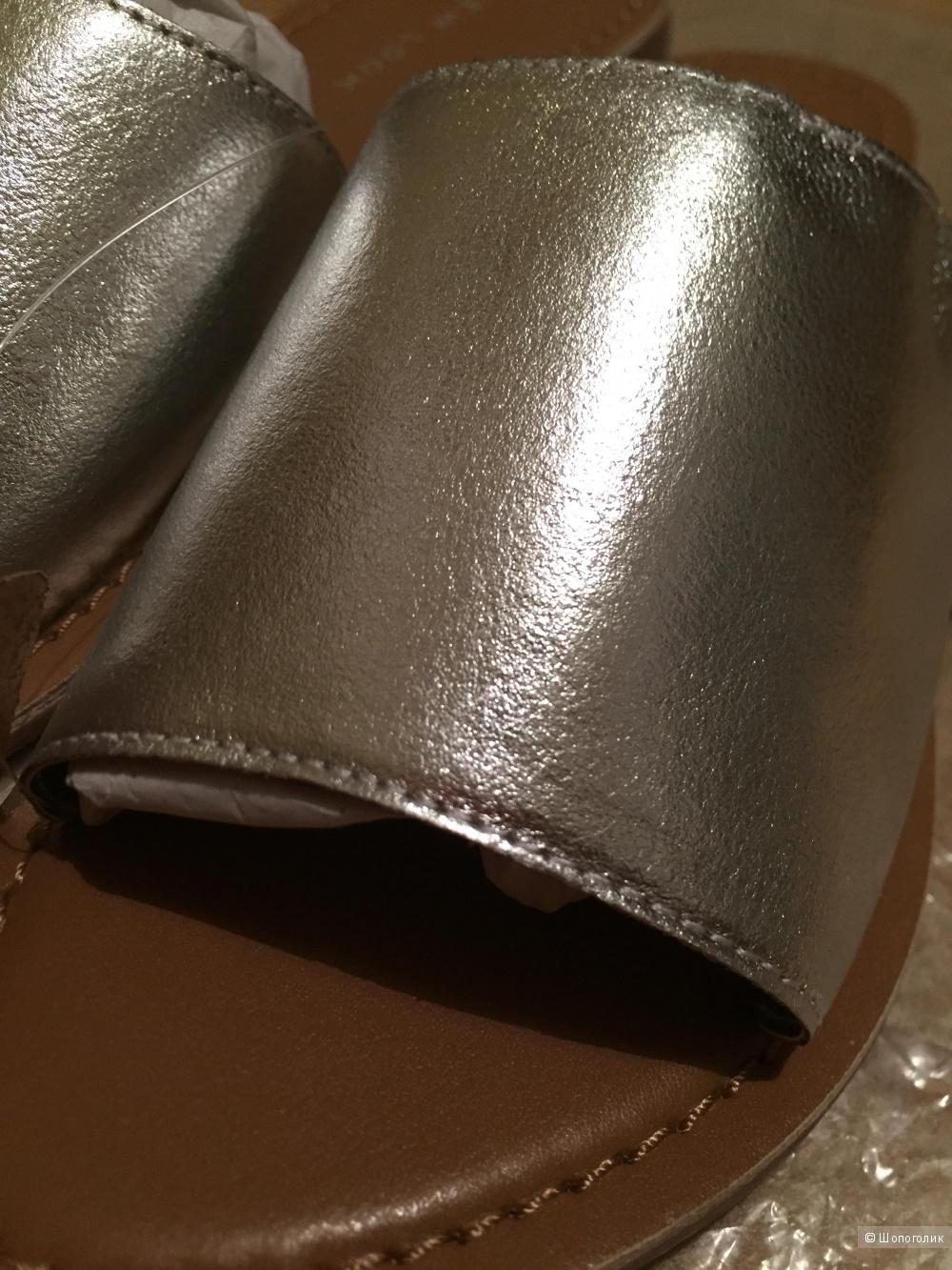Кожаные мюли New Look, 38р-р (uk5)