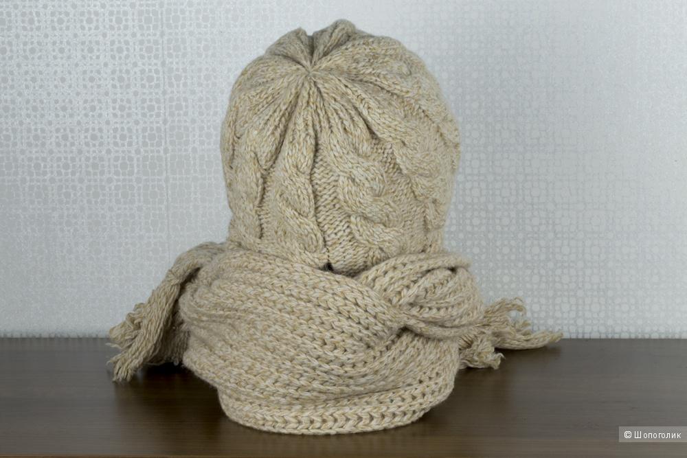 Новый комплект - шапка с шарфом Westland.