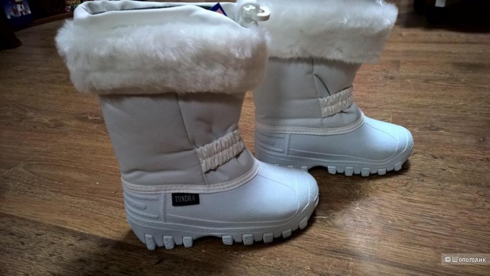 Детские зимние сапожки Tundra  28 размер