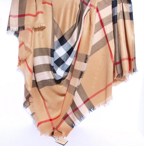 Платочек-шаль Burberry, 150, кашемир