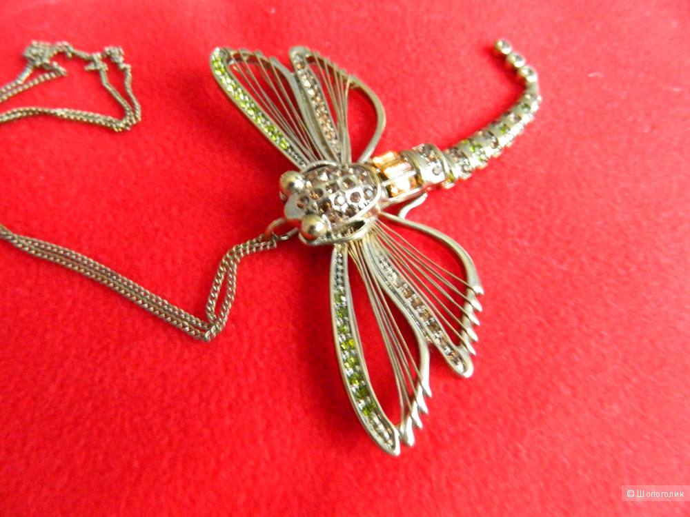 River Island Dragonfly Necklace