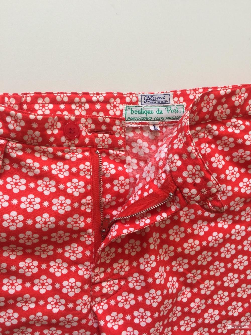 Летние шорты итальянской марки Glans размер 46-48