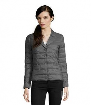 Новая курточка на пуху Sisley 44 р-р