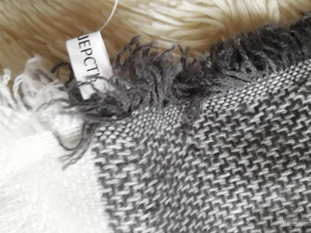 Платок размер 130×130, 100% шерсть
