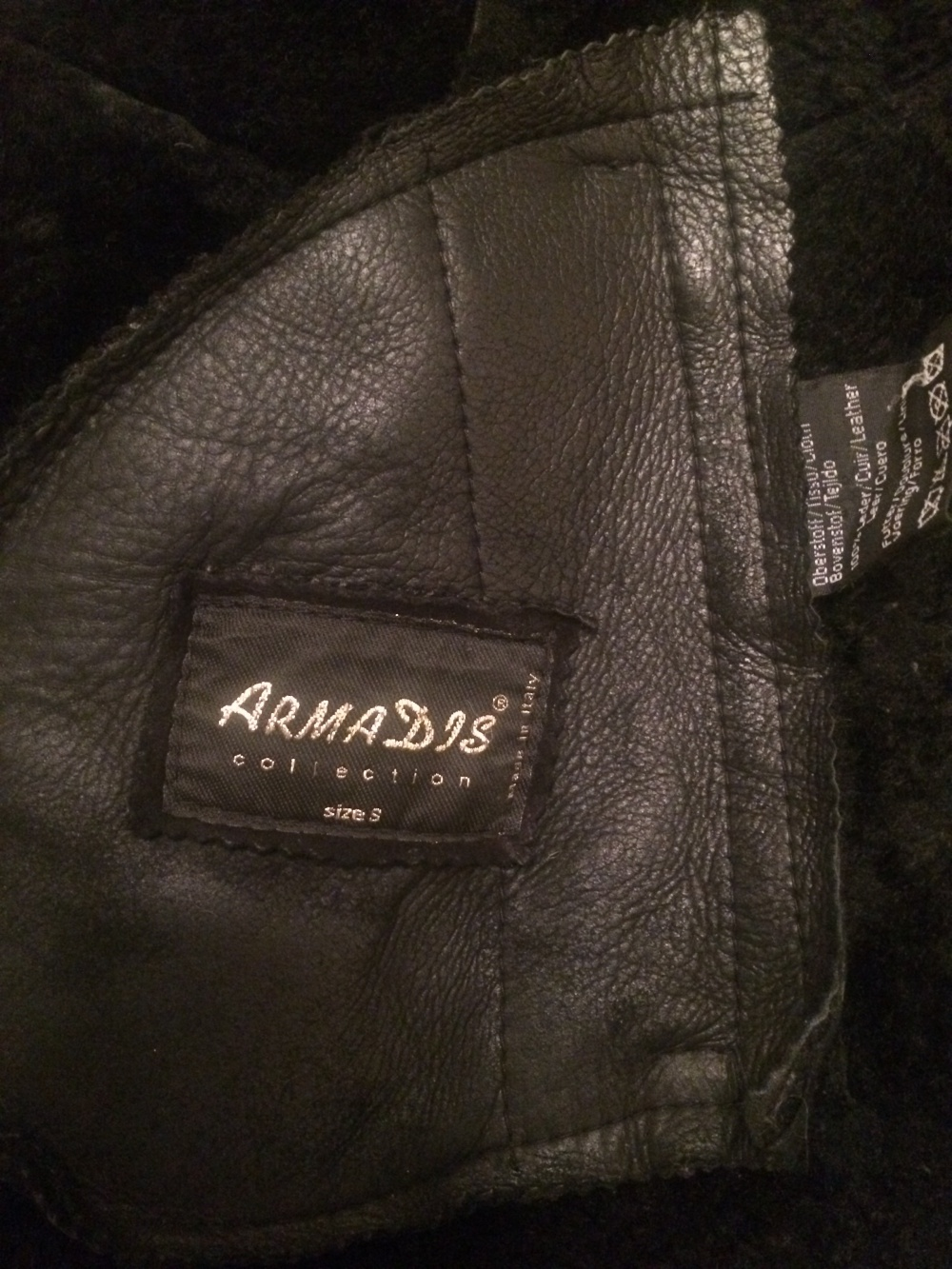 Дублёнка ArmaDis, размер S