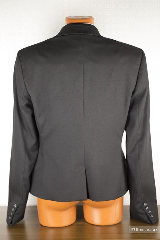 Пиджак новый женский Sisley (черный) , размер 46.