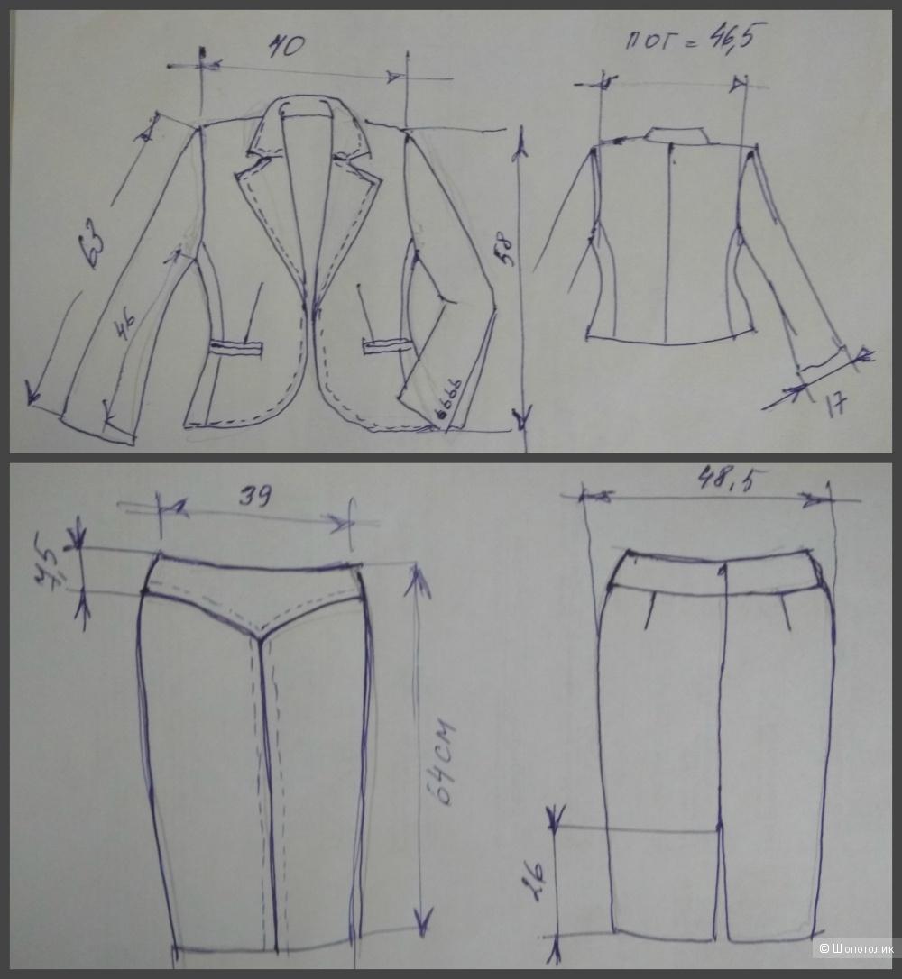 Стильный костюм двойка Marks&Spencer (Limited Edition), р.44-46