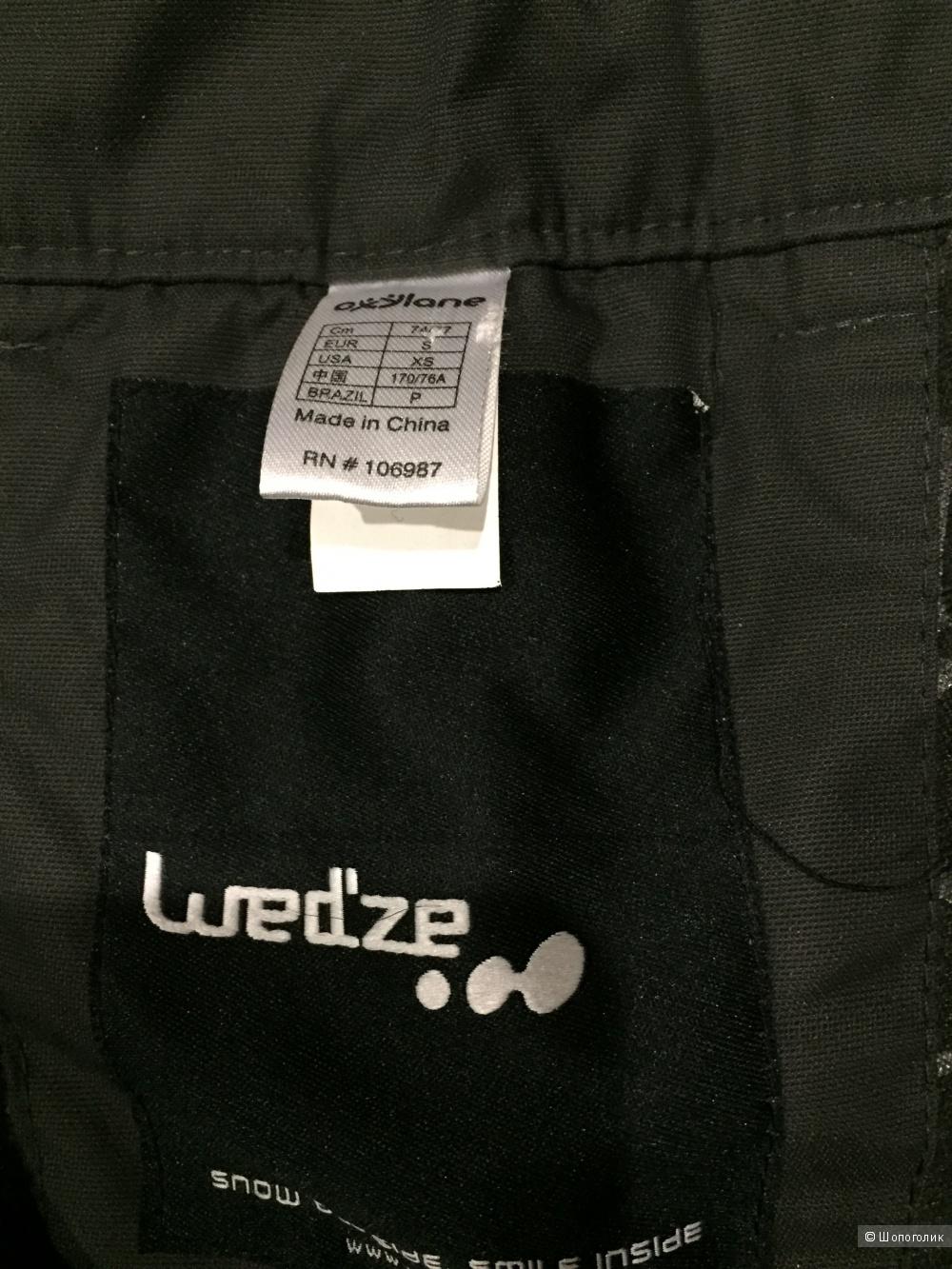 Горнолыжные/сноубордические брюки WED'ZE,размер S-М
