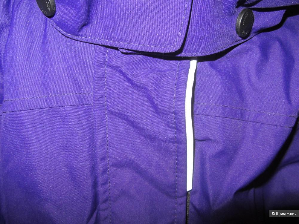 Зимняя парка Lassie фиолетового цвета р.110