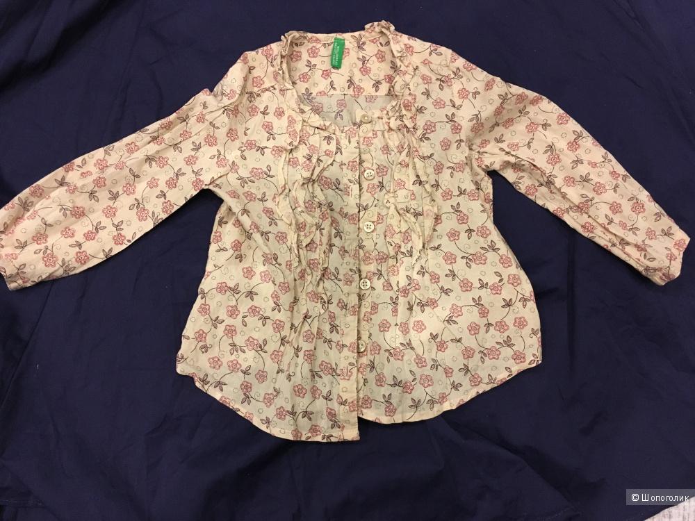 Блузка детская United Colors of Benetton, рост 80