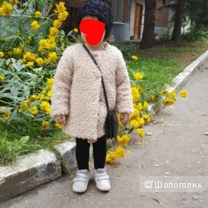 Шубка-пальто Zara размер 92