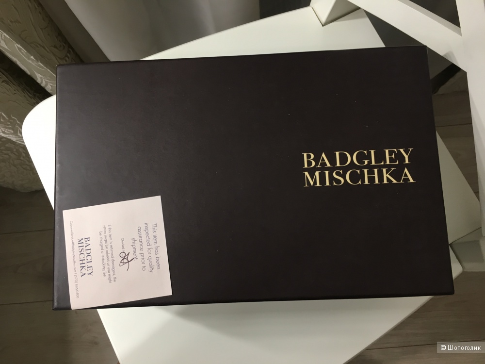 Туфли Badgley Mischka, размер 36,5