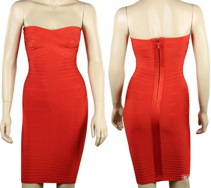 Бандажное платье XS