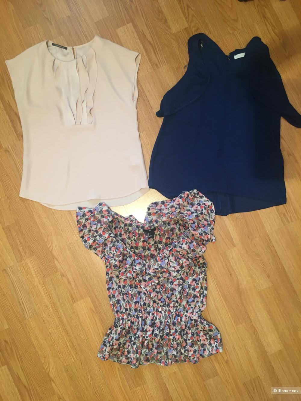 Сет из блузок, H&M, Rene lezart, размер S