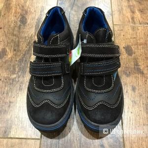Кроссовки из натуральной кожи и замши, DPAM (Франция), 36