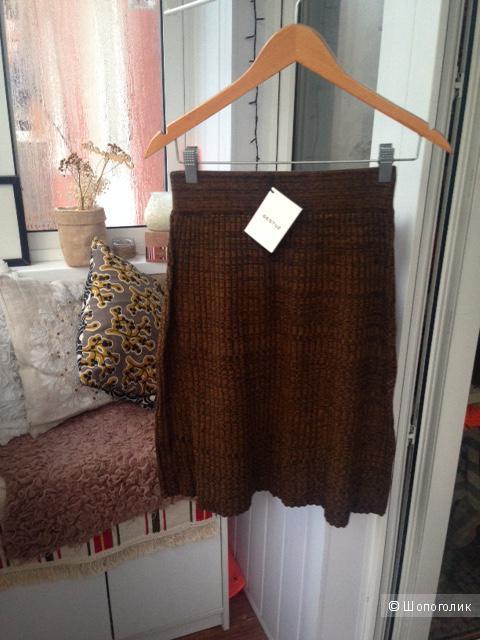 Трикотажная юбка в рубчик Gestuz (размер 42-44)
