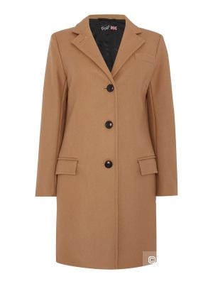 Шерстяное пальто Gloverall (размер М)