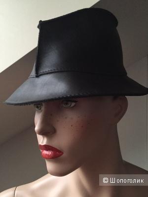 Кожаная шляпа GUCCI, оригинал