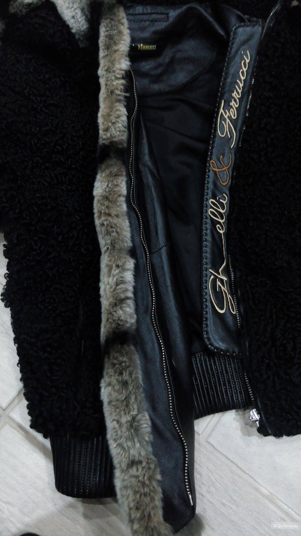 Куртка из натурального каракуля, Ferrucci, xs-s