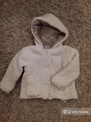 Куртка Zara размер 9-12мес.