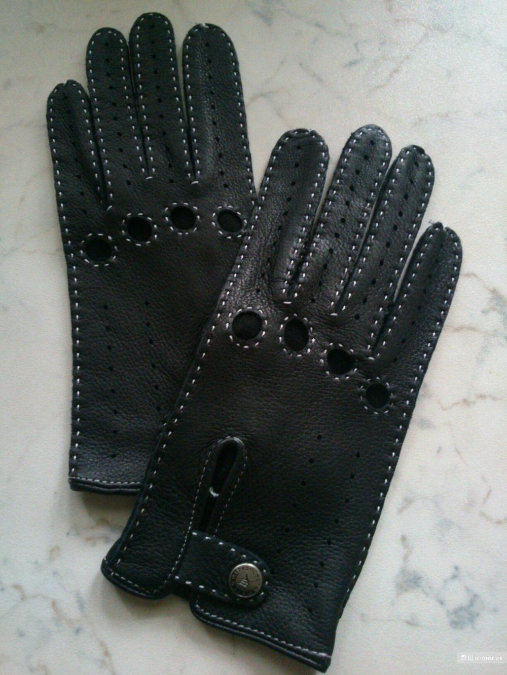 Francesco Marconi, перчатки. Размер: 6,5. Наппа.
