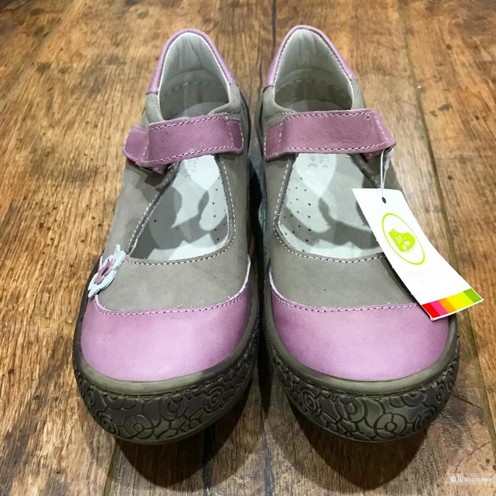 Туфельки из натуральной кожи, DPAM, 33