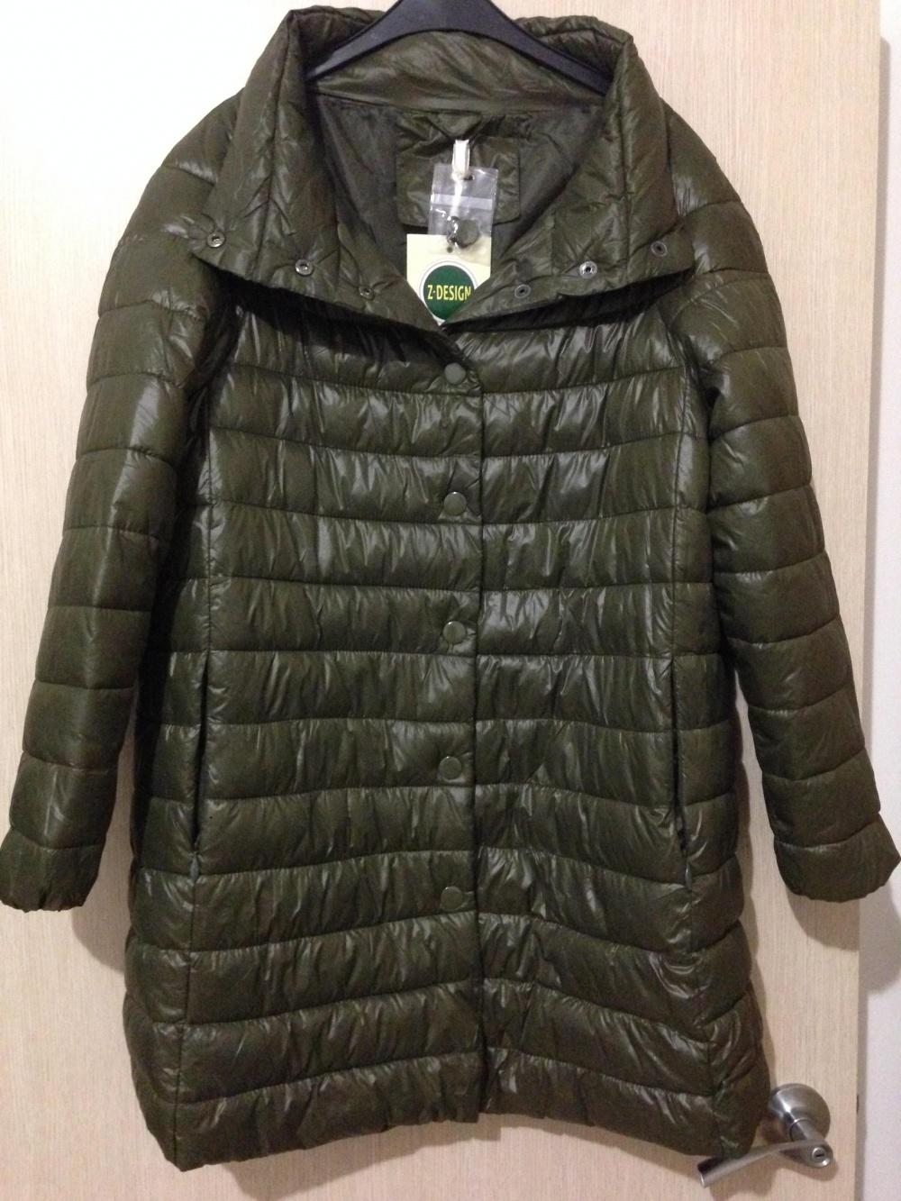 """Утеплённая курточка """" Z -DESIGN """", 48-50  размер."""