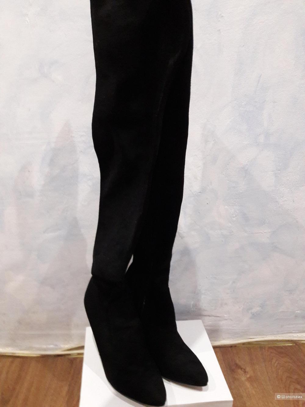 Ботфорты Саsadei, черного цвета , размер 37