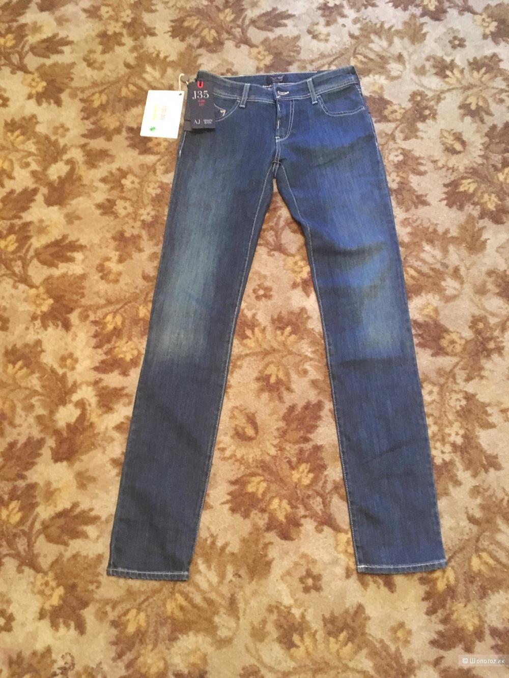 Armani Jeans джинсы новые Армани 24 размер