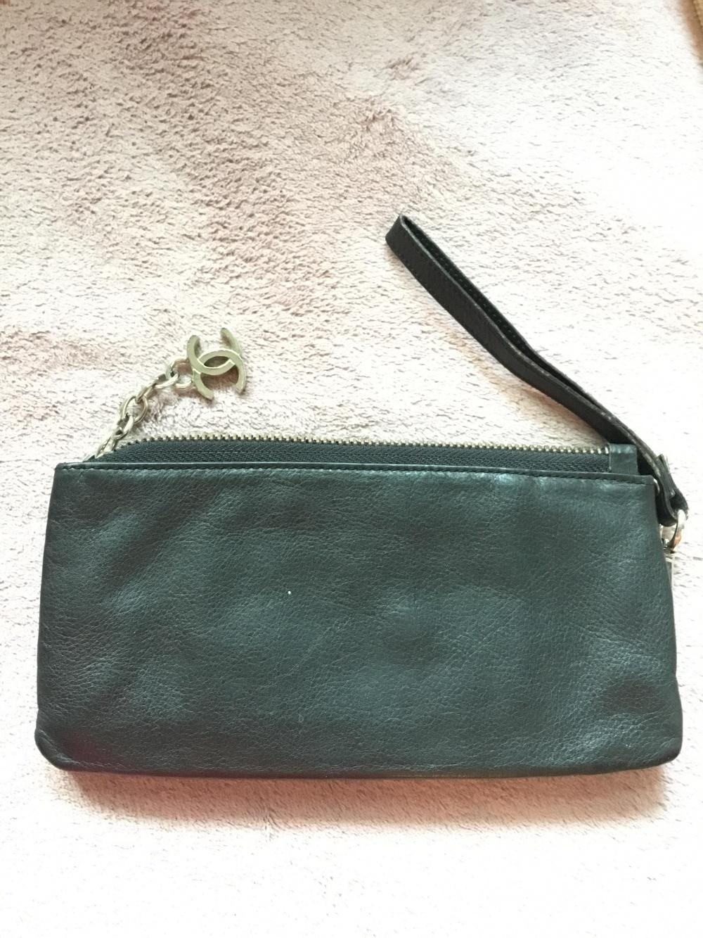 Клатч кошелек Chanel, реплика, размер 19*9