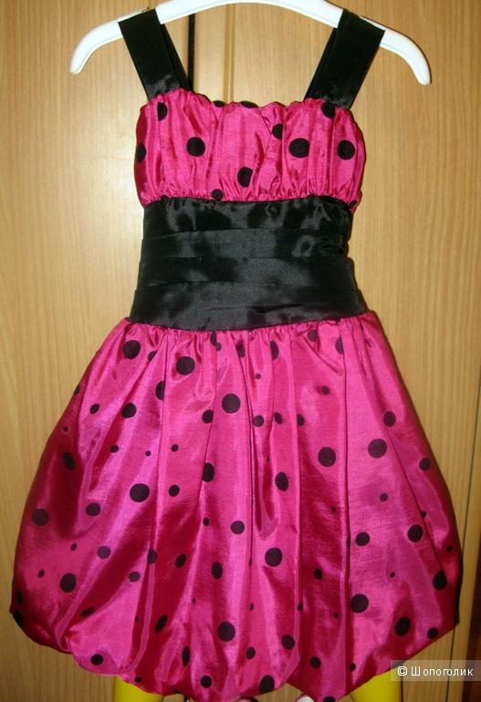 Нарядное платье на девочку размер 2 на рост 92 см