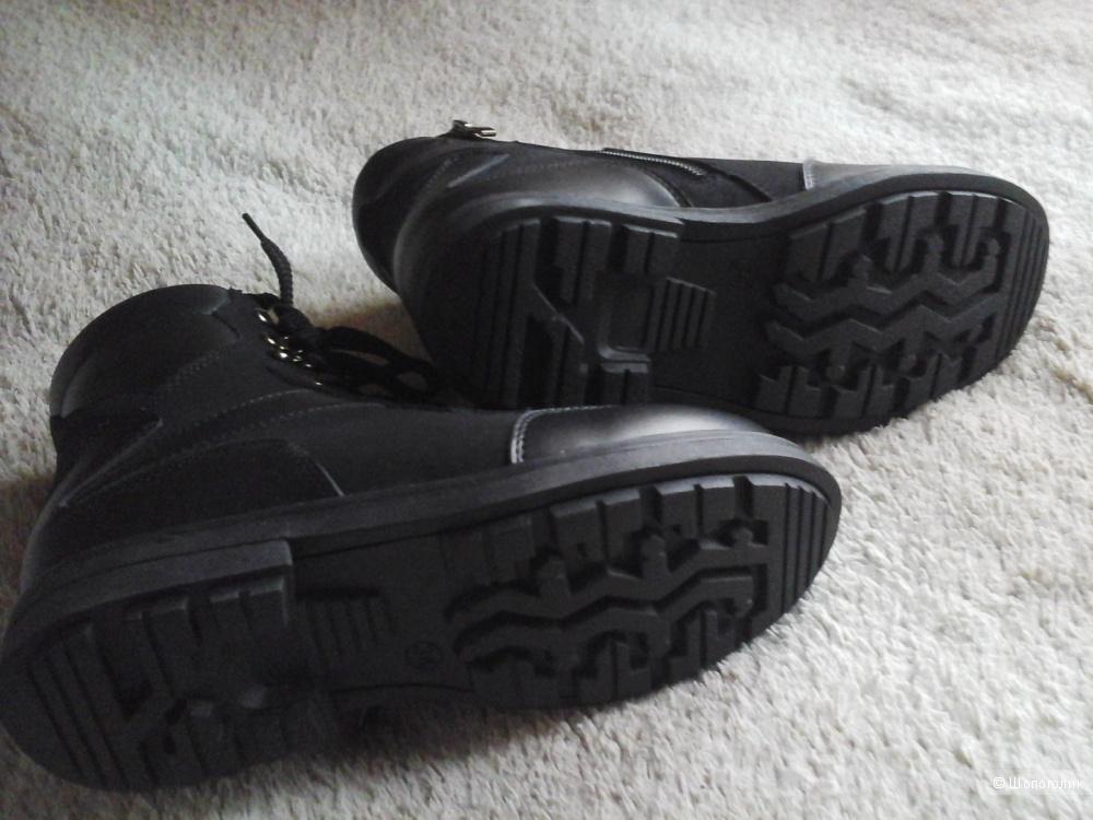 Зимние ботинки для мальчика 34 р-р