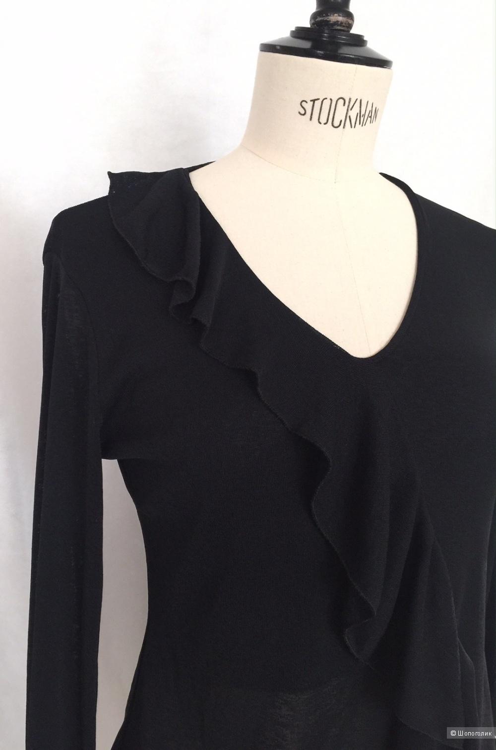 Шикарная вискозная блузка марки AMISU размер M