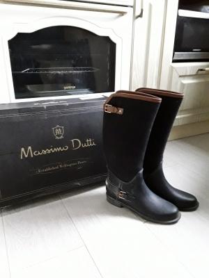 Сапоги резиновые Massimo Dutti размер 39