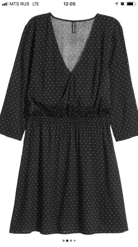 Платье H&M с бирками 34р