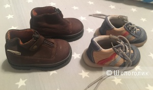 Комплект итальянских детских ботинок, Romagnoli, 20 размер