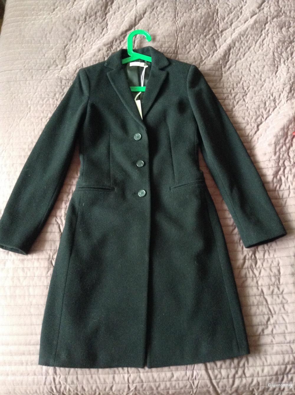 Новое шерстяное пальто Stefanel, it.38