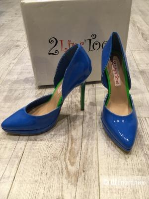 Новые туфли 2 lips too, 38,5-39  размер